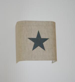 lin ficelle et étoile grise