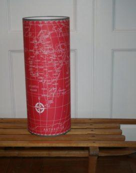 magasin luminaire lyon lampe totem grand modèle map monde rouge