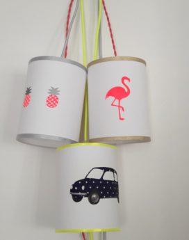 magasin luminaire lyon baladeuse chambre enfant voiture fiat 500 marine jaune fluo décoration intérieur 1
