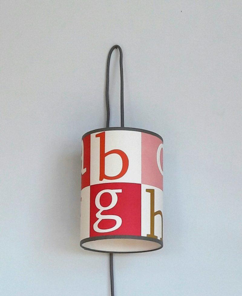 magasin luminaire lyon chambre enfant décoration alphabet lettres pastels 1