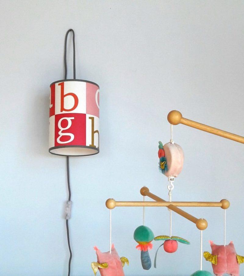 magasin luminaire lyon chambre enfant décoration alphabet lettres pastels