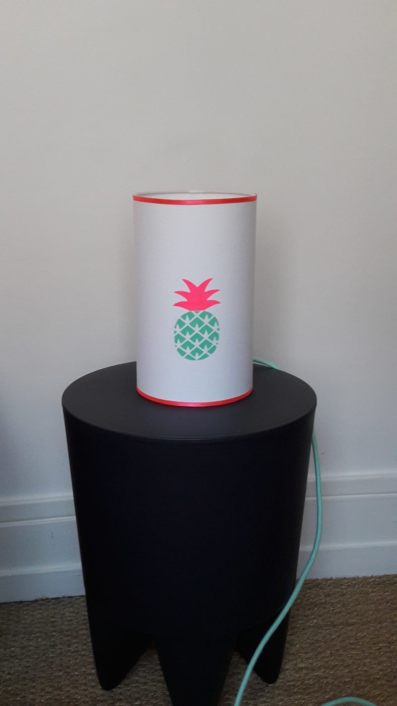 magasin luminaire lyon lampe totem ananas mint fluo chambre enfant