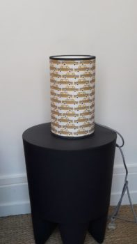 magasin luminaire lyon lampe totem petit modèle chambre enfant décoration taxi jaune moutarde New York