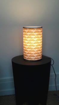 magasin luminaire lyon lampe totem petit modèle chambre enfant garçon taxi jaune moutarde New York