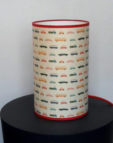 magasin luminaire lyon lampe totem petit modèle chambre enfant garçon voitures colorées