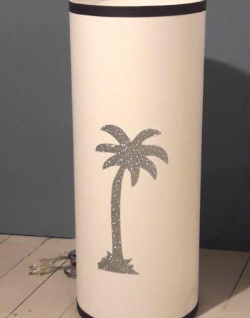 magasin luminaire lyon palmier argenté lampe totem GM