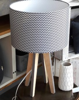 magasin luminaire lampe quadripode zig zag lyon