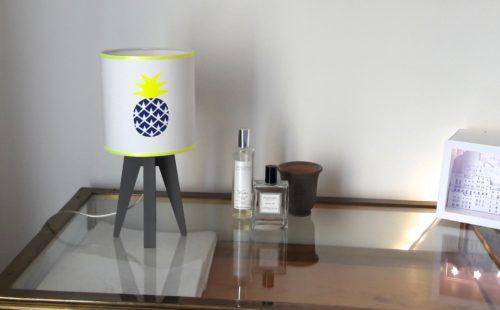magasin luminaire lyon lampe quadripode chambre enfant ananas marine fluo
