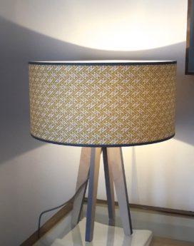 magasin luminaire lyon lampe quadripode esme doré