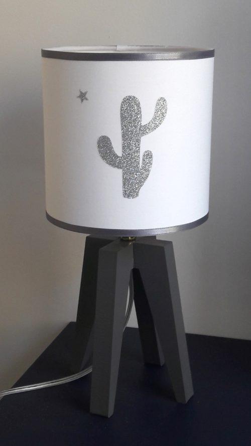 magasin luminaire suspension lyon lampe sur pied cactus argenté décoration 1