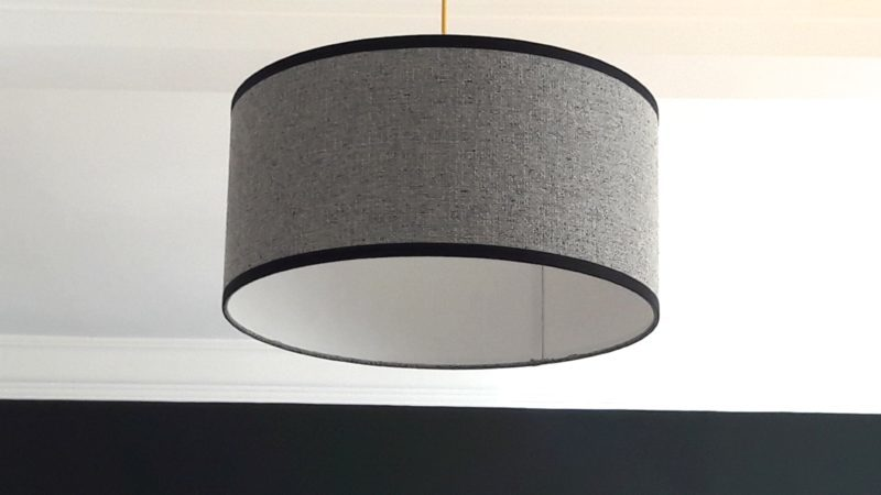 magasin luminaire suspension tweed