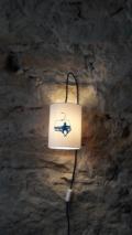 lampe baladeuse télésiège dans le thème montagne
