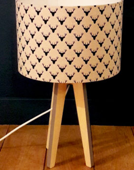magasin luminaire sur lyon lampe quadripode cerf lin