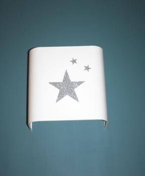 magasin luminaire lyon applique demi carre étoile pailleté