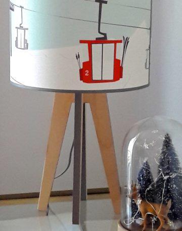 magasin luminaire lyon lampe quadripode téléphérique