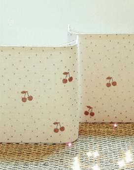 magasin luminaire lyon décoration chambre enfant pois cerises rose applique murale 1
