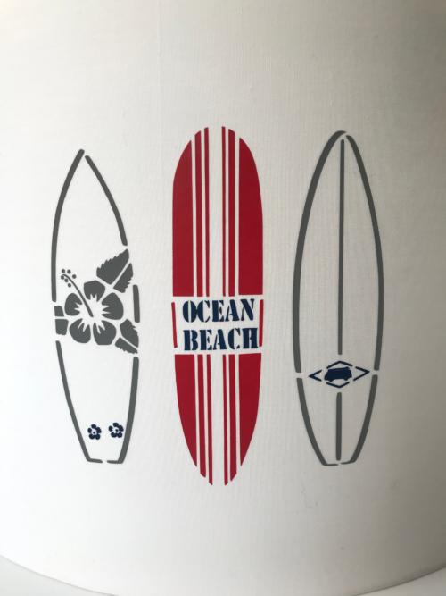magasin luminaire lyon décoration planches surf suspension 1