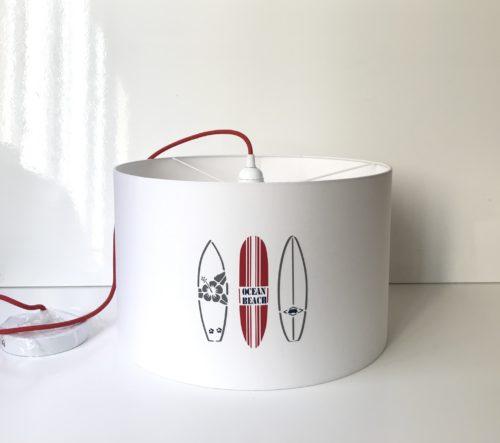 magasin luminaire lyon décoration planches surf suspension