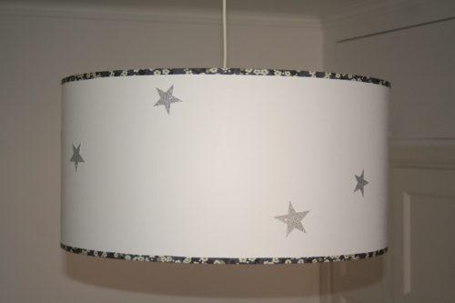 magasin luminaire lyon décoration suspension chambre enfant étoiles argentées
