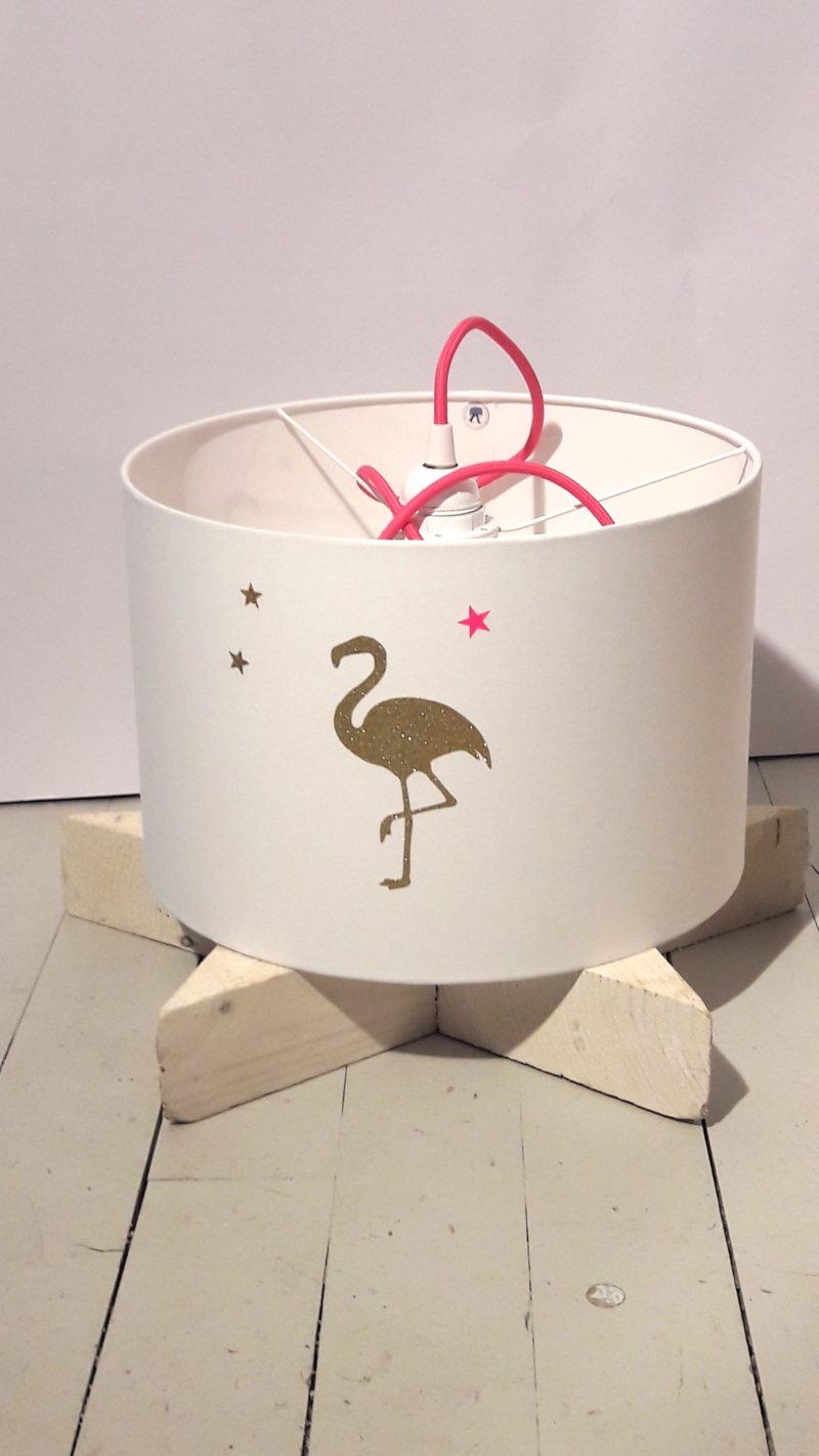 magasin luminaire lyon décoration suspension chambre enfant flamant rose