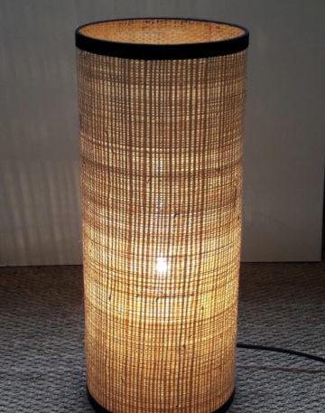 magasin luminaire lampe totem rabane interieur maison deco lyon luminaire naturel