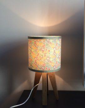 magasin luminaire lyon liberty dorée lampe quadripode
