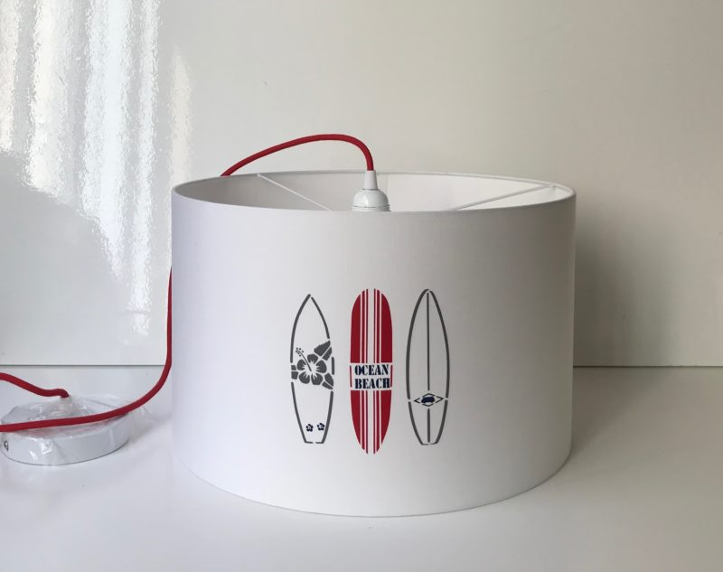 magasin luminaire lyon suspension abat jour planche surf