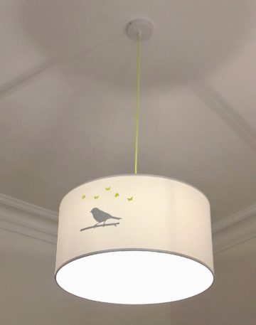 magasin luminaire lyon suspension chambre enfant oiseau pailleté