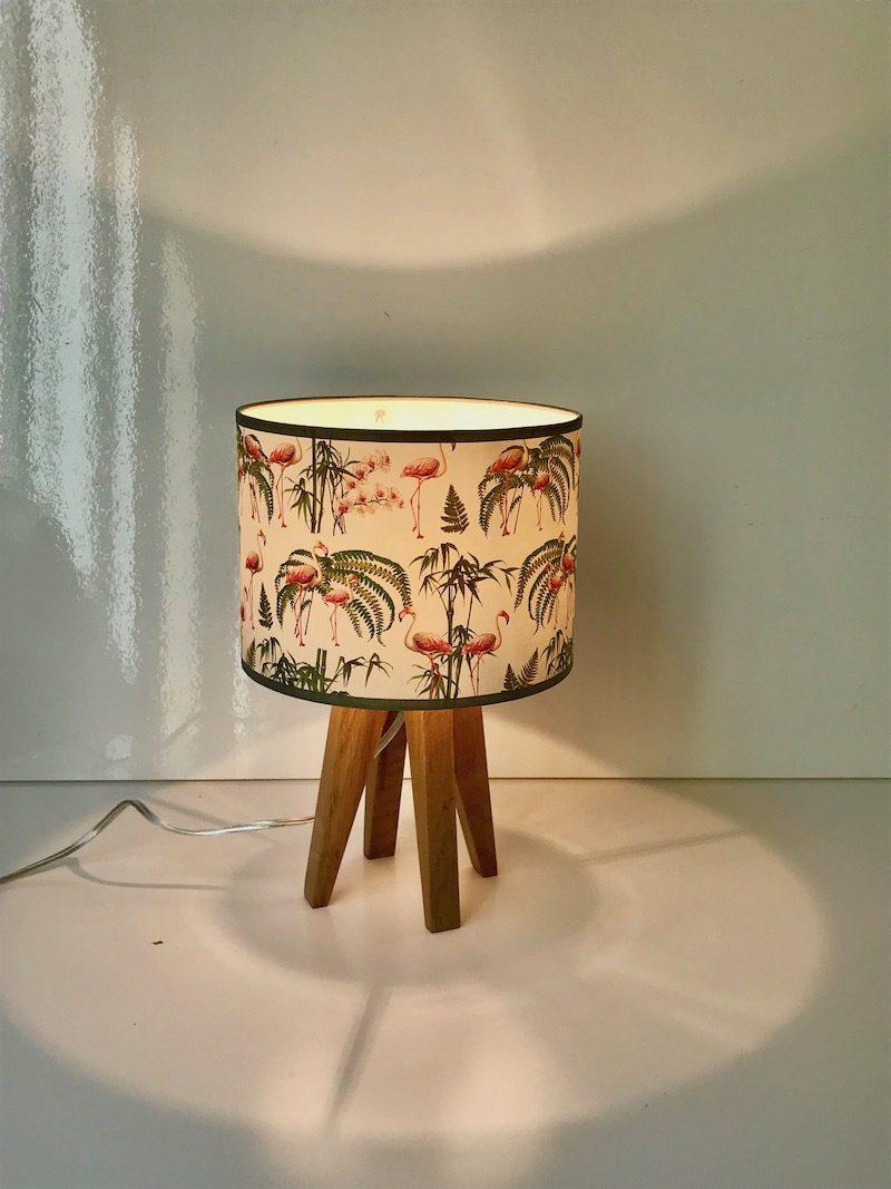 los flamingos magasin luminaire lampe quadripode mini flamingo