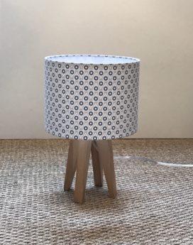 magasin luminaire lyon goutes lampe quadripode taupes bleus