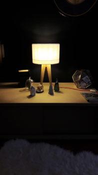 flanelle magasin luminaire lyon lampe quadripode decoration interieur