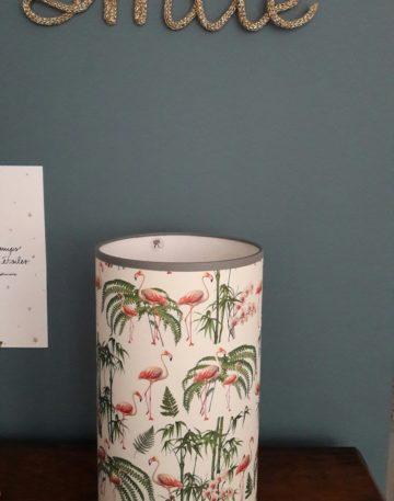 magasin luminaire lyon lampe totem flamingo