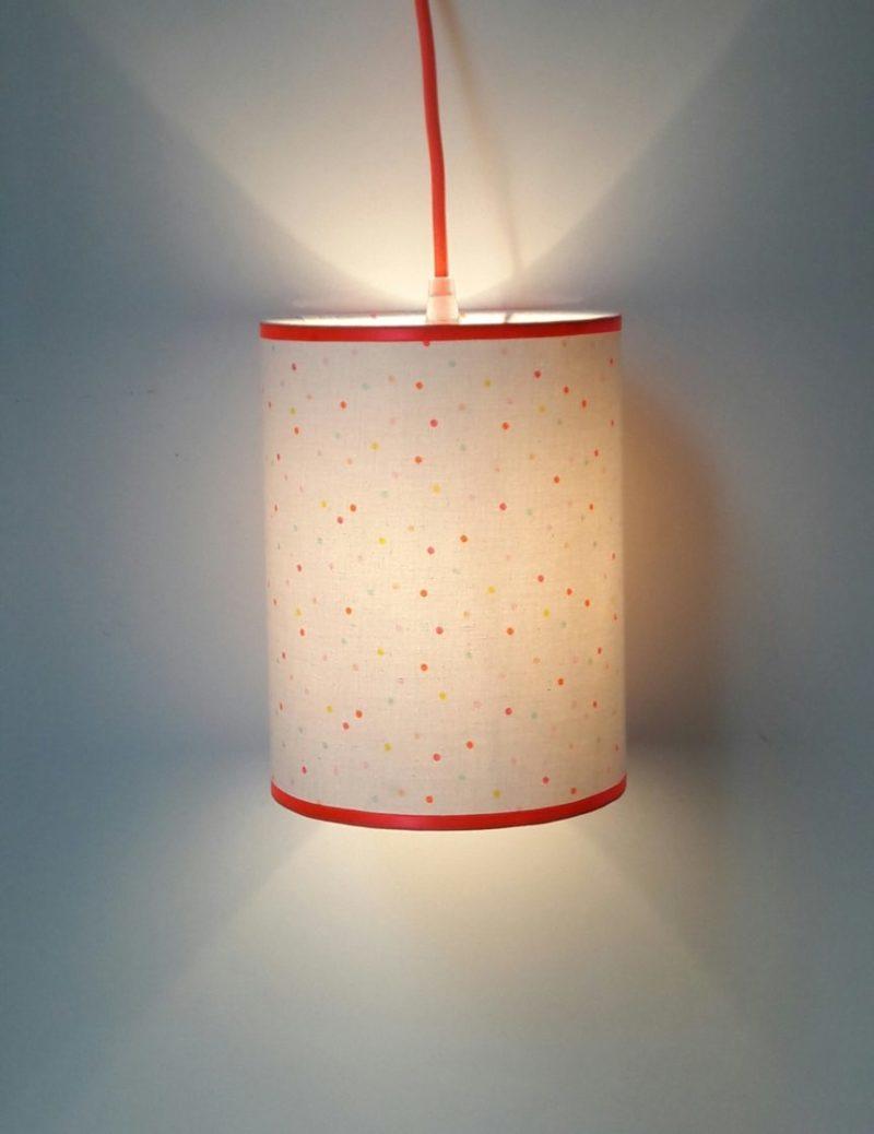 magasin luminaire lyon lampe décoration intérieur chambre enfant confetti corail jaune