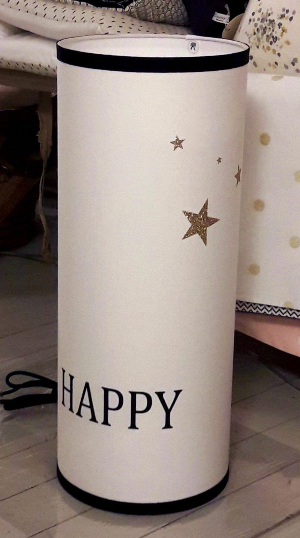 magasin luminaire lyon lampe happy totem pailleté doré