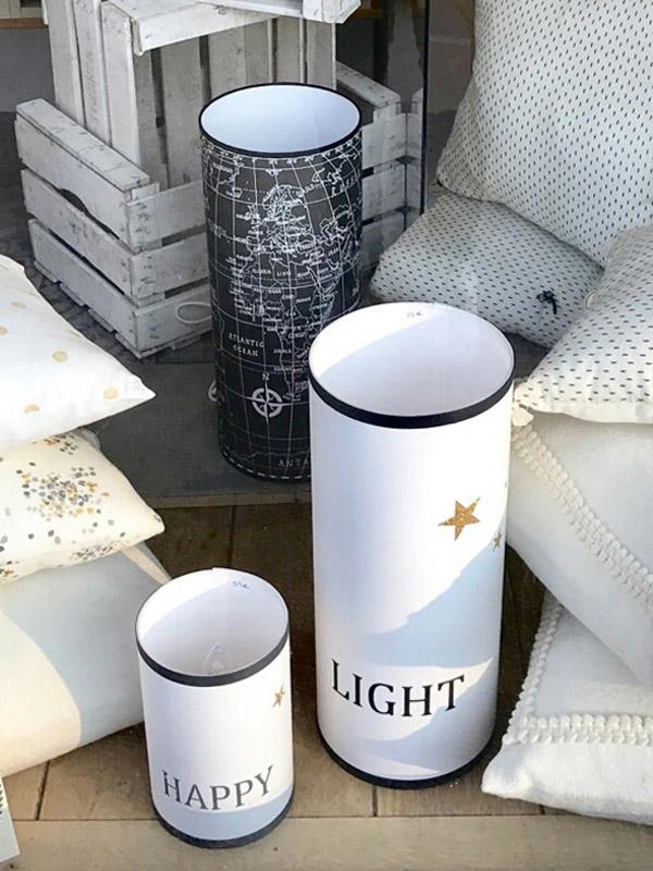 magasin luminaire lyon lampe totem grand modèle happy décoration gris