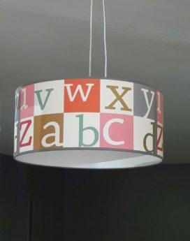magasin luminaire lyon suspension alphabet chambre enfant pastel