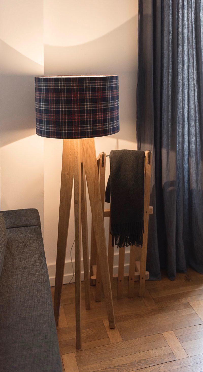 magasin luminaire lyon lampadaire tartan ecossais decoration interieur