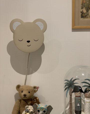 magasin luminaire lyon lampe chambre enfant cadeau naissance ourson decoration applique murale