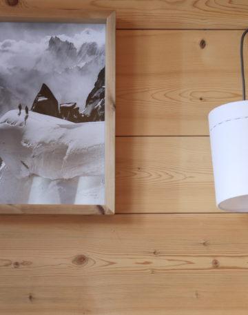 magasin luminaire lyon lampe baladeuse abat jour montagne design flanelle blanche