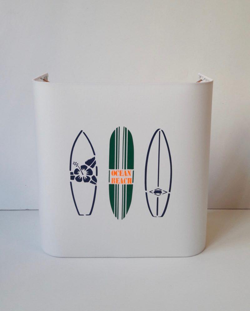 magasin luminaire lyon applique murale demi carre deco interieur bord ocean planche surf fluo