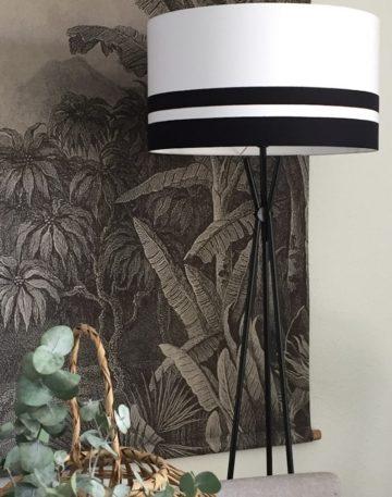 magasin luminaire lyon lampadaire abat jour blanc noir decoration interieur design épuré