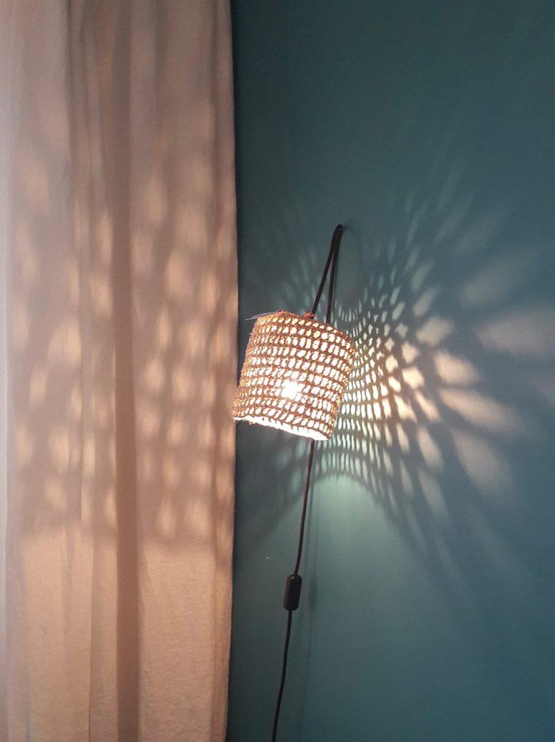 magasin luminaire lyon lampe baladeuse panier abat jour palmier