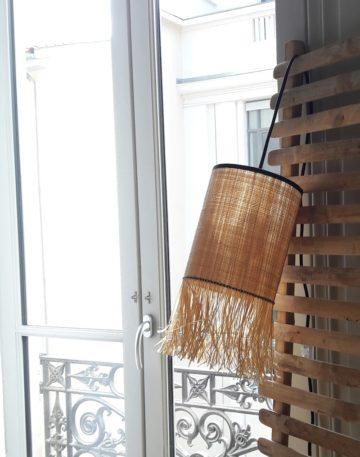 magasin luminaire lyon lumière lampe baladeuse rabane abat jour decoration interieur frange