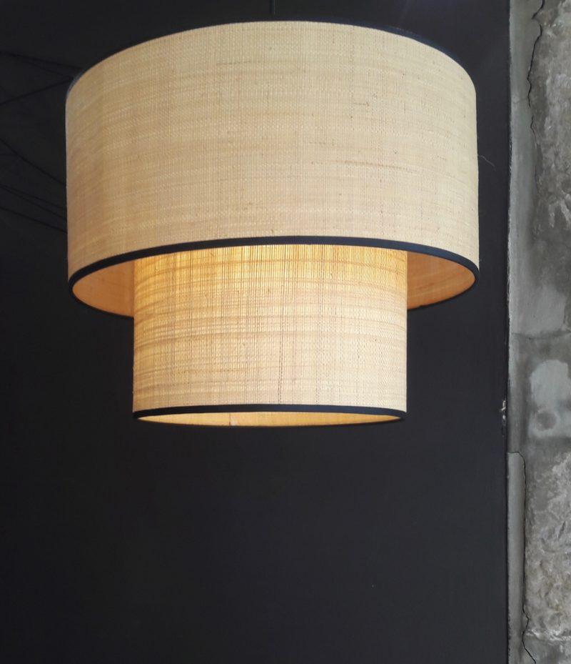 magasin luminaire lyon suspension abat jour rabane lumière lampe decoration interieur bohem