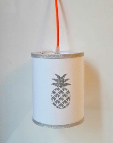 magasin luminaire lyon decoration chambre enfant lampe baladeuse ananas paillete argent
