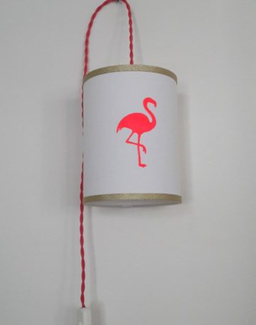 magasin luminaire lyon decoration lampe baladeuse flamant rose fluo dore fille univers chambre enfant