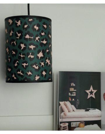 magasin luminaire lyon lampe baladeuse abat jour papier leopard chambre enfant decoration interieur sur mesure