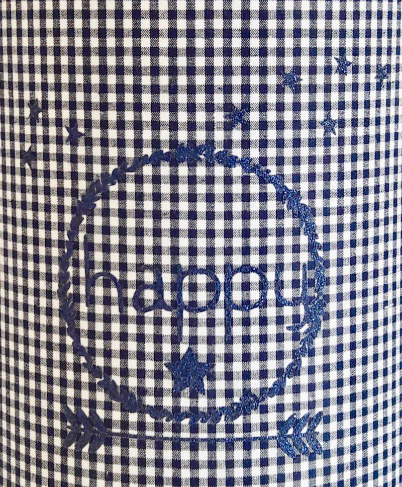 magasin luminaire lyon lampe baladeuse chevet abat jour chambre enfant tissu vichy marine happy paillette glitter