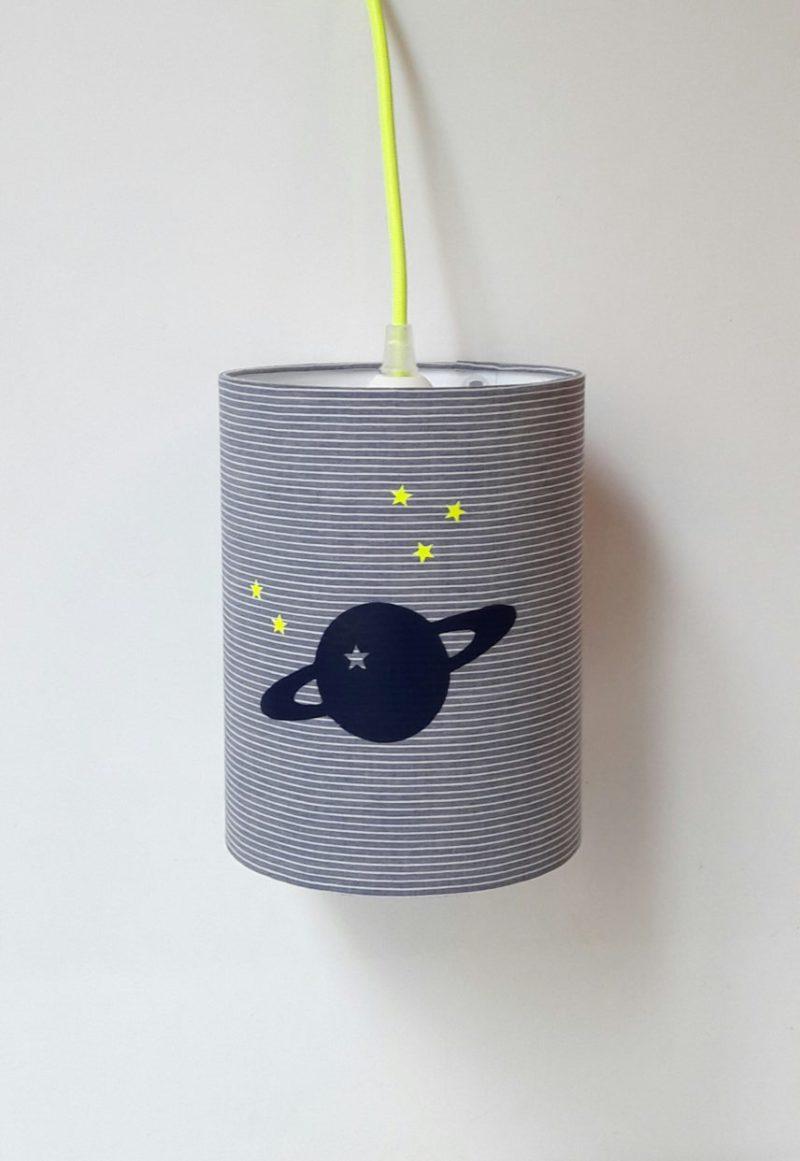 magasin luminaire lyon lampe baladeuse chevet bureau planete marine chambre enfant decoration fluo