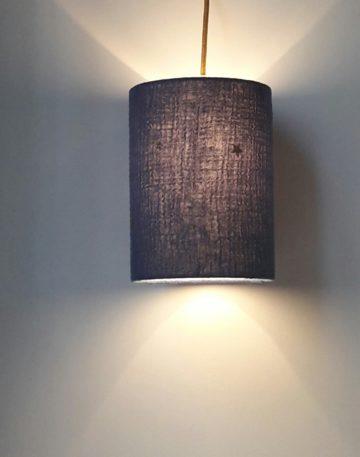 magasin luminaire lyon lampe baladeuse chevet decoration chambre enfant idee cadeau double gaze coton bleu jean etoiles pailletees dorees